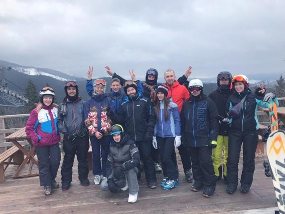 Forte Group Ski event